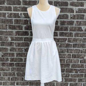 Madewell White Racerback Dress
